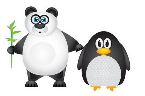 pingvin-Panda algoritmus