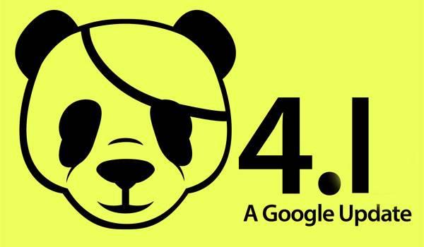 Google Panda 4.1 algoritmus frissítés