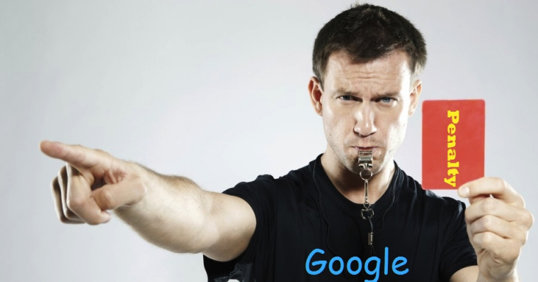 Google büntetés