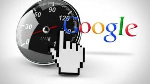 Google oldalsebesség