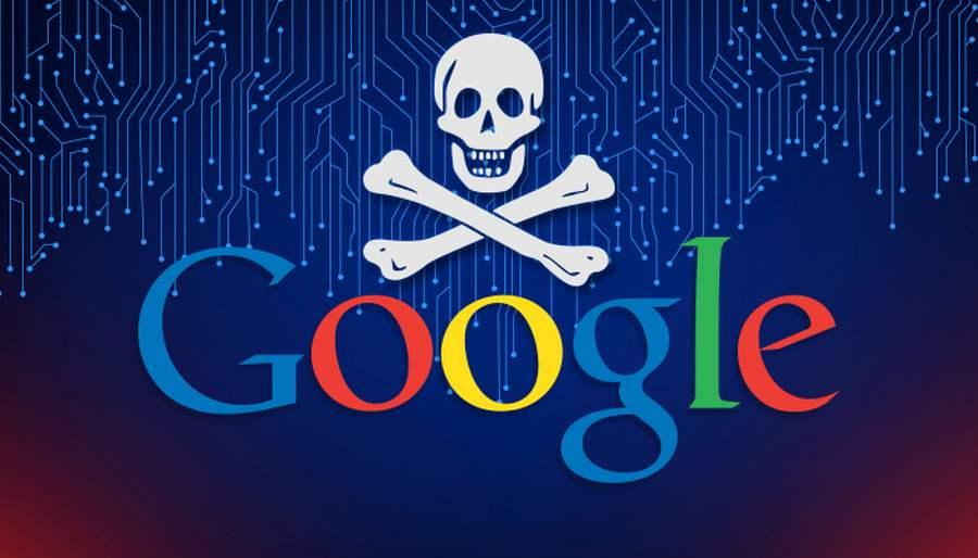 google feltört weboldal algoritmus