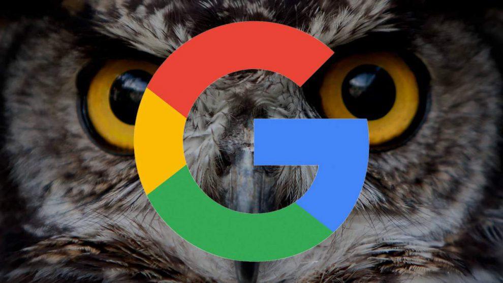 google bagoly algoritmus